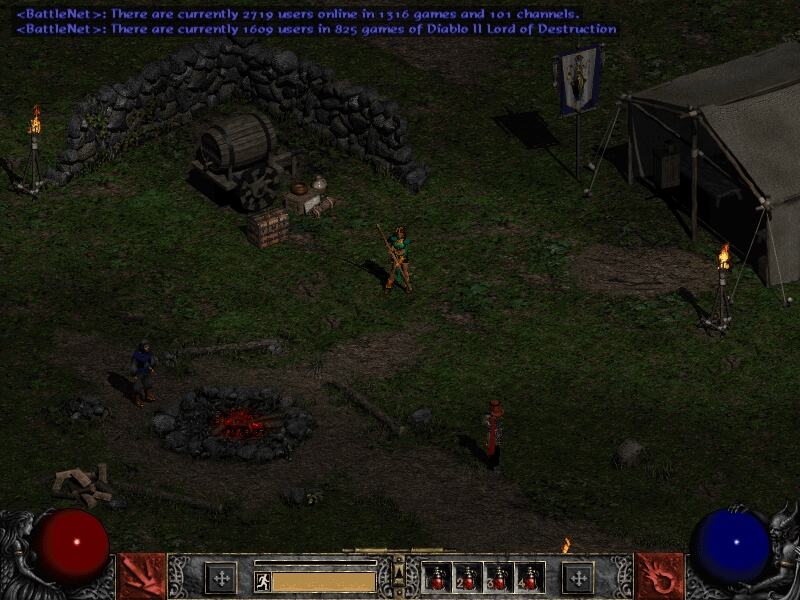 Diablo 2 Private Server - UsaBattle